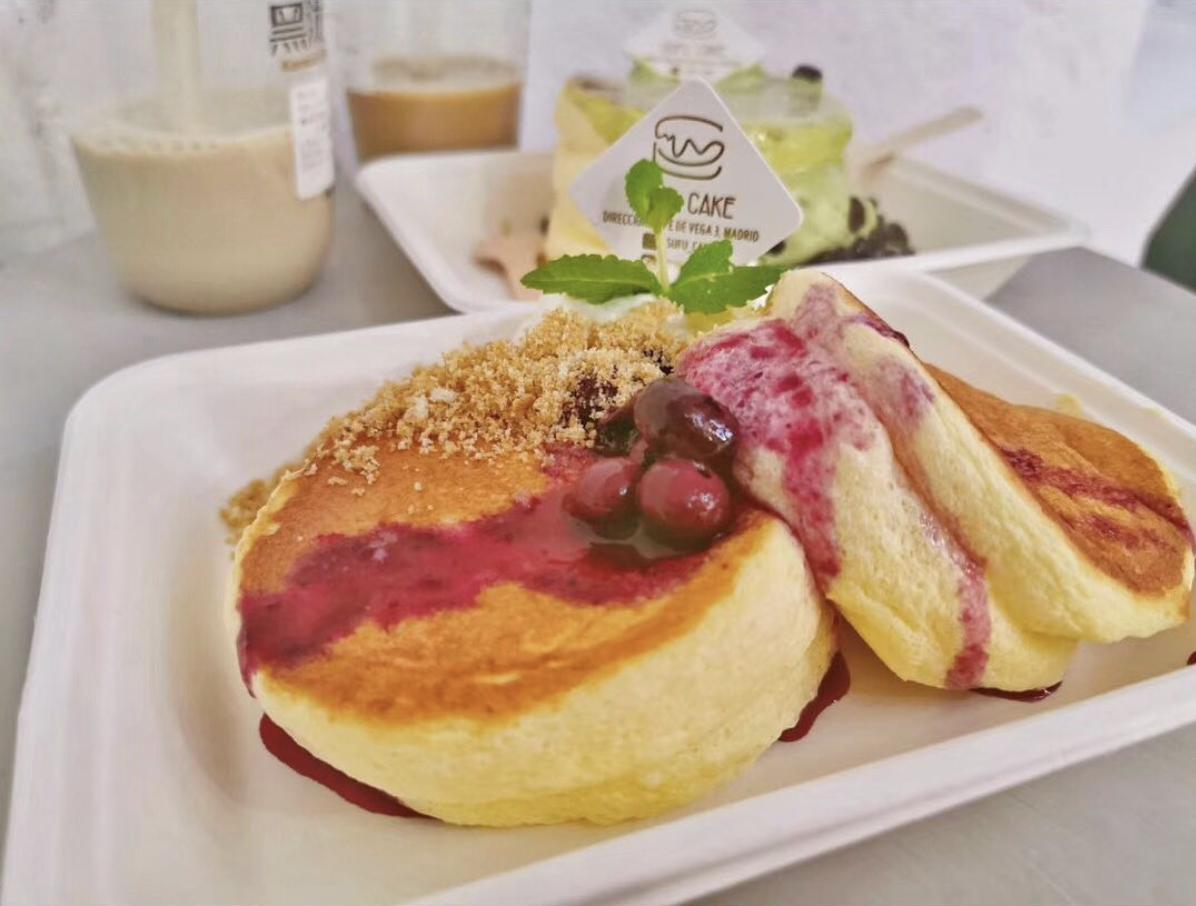 Las tortitas soufflé japonesas ¡por fin! en Madrid: acaba de abrir Sufu Cake