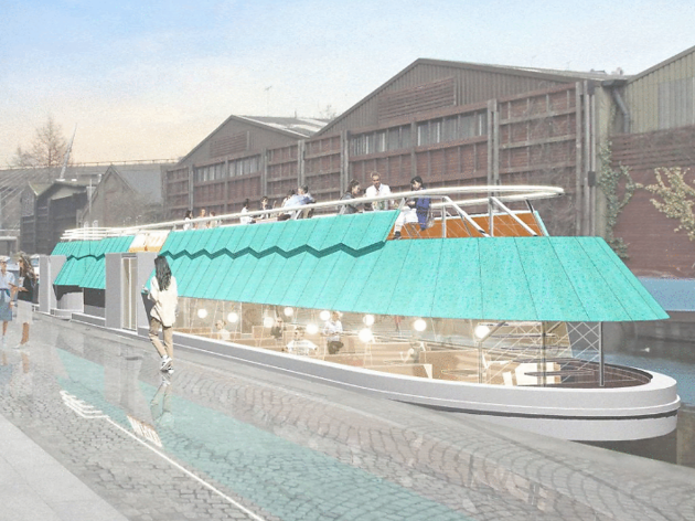 A double-decker cheese barge docks in Paddington next month