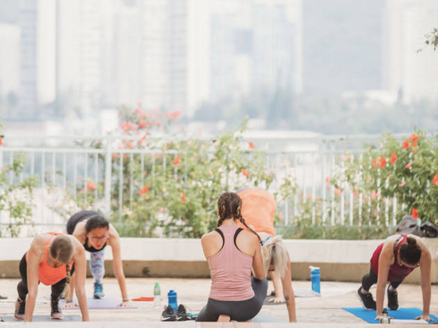 Free Workout with Kristen Handford