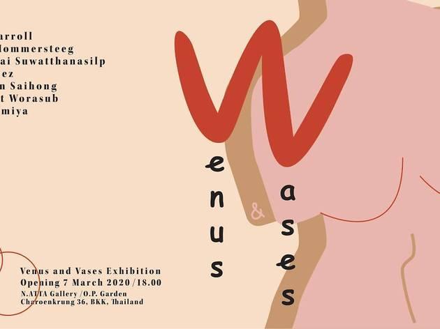 Venus & Vases group exhibition