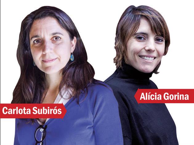 Carlota Subirós i Alícia Gorina