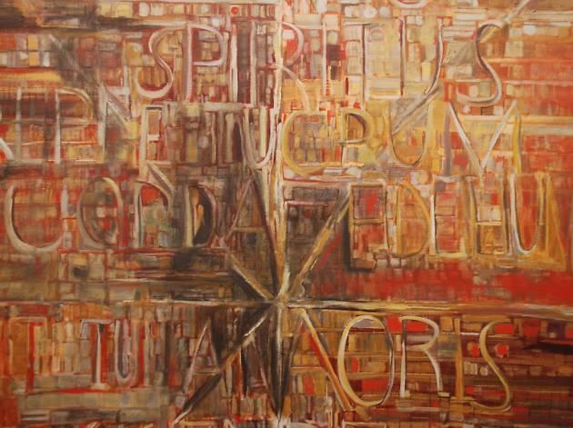 Veni Sancte (1981), raramente mostrado ao público, é um dos destaques da exposição