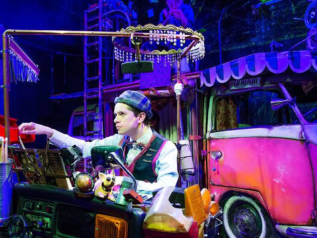 El ultimo teatro del mundo, obra de teatro, musical