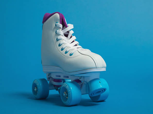 A free '90s-inspired roller rink is popping up in L.A. for one weekend only