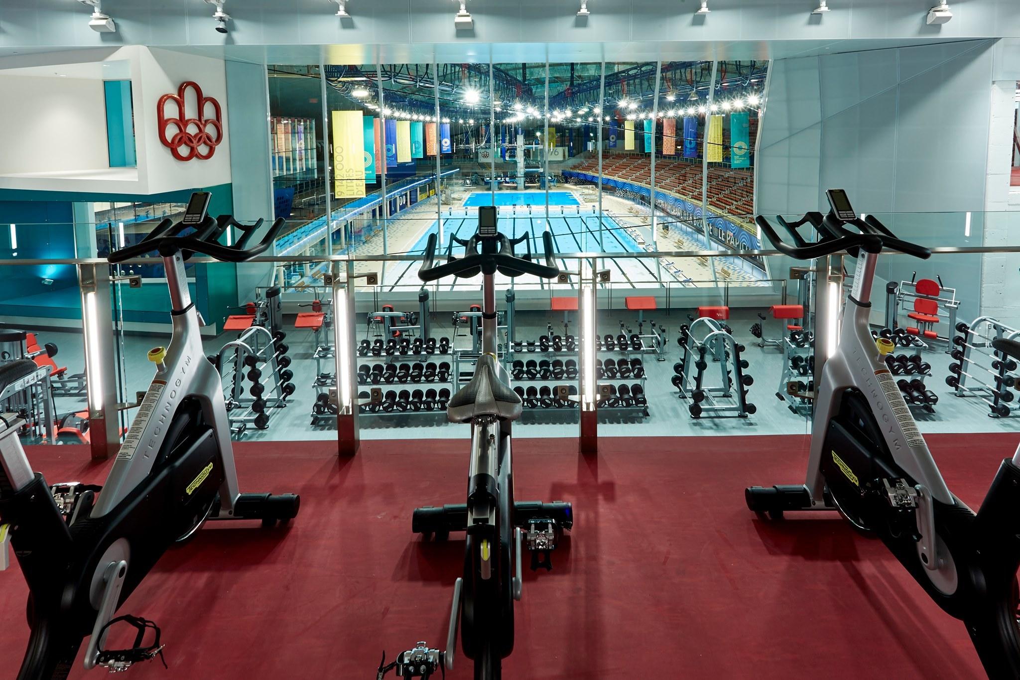 The Sports Centre (Centre sportif du Parc olympique)