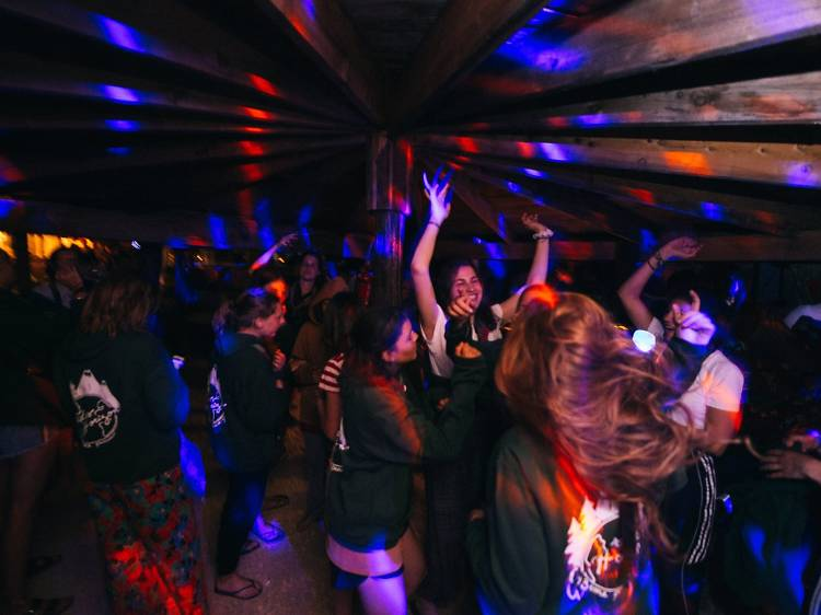 Dance the night away at Admiral disco