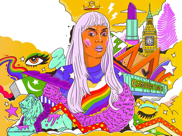 Asifa Lahore is Britain's first out Muslim drag queen