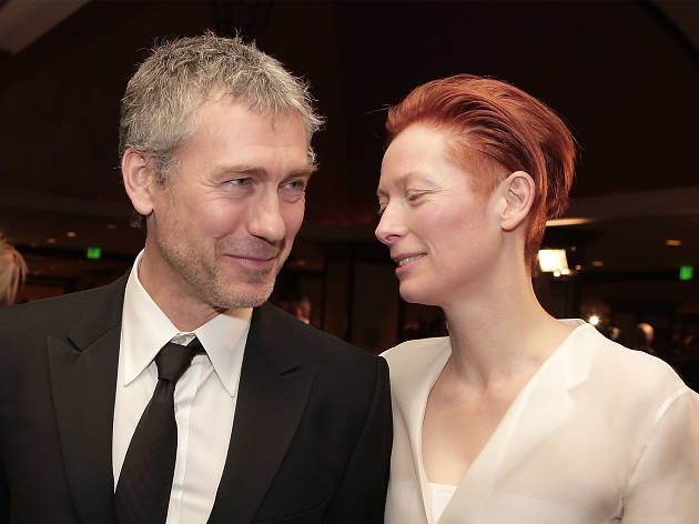 Tony Gilroy and actress Tilda Swinton (Do Not Reuse)