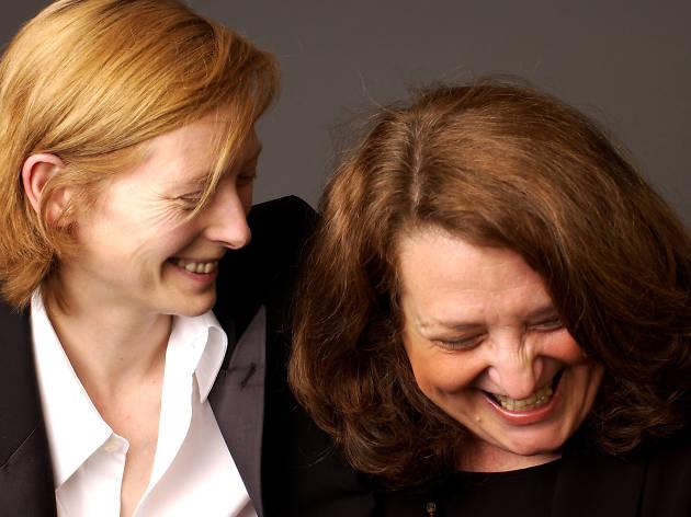 Tilda Swinton and writer/director Lynn Hershman-Leeson Do not reuse