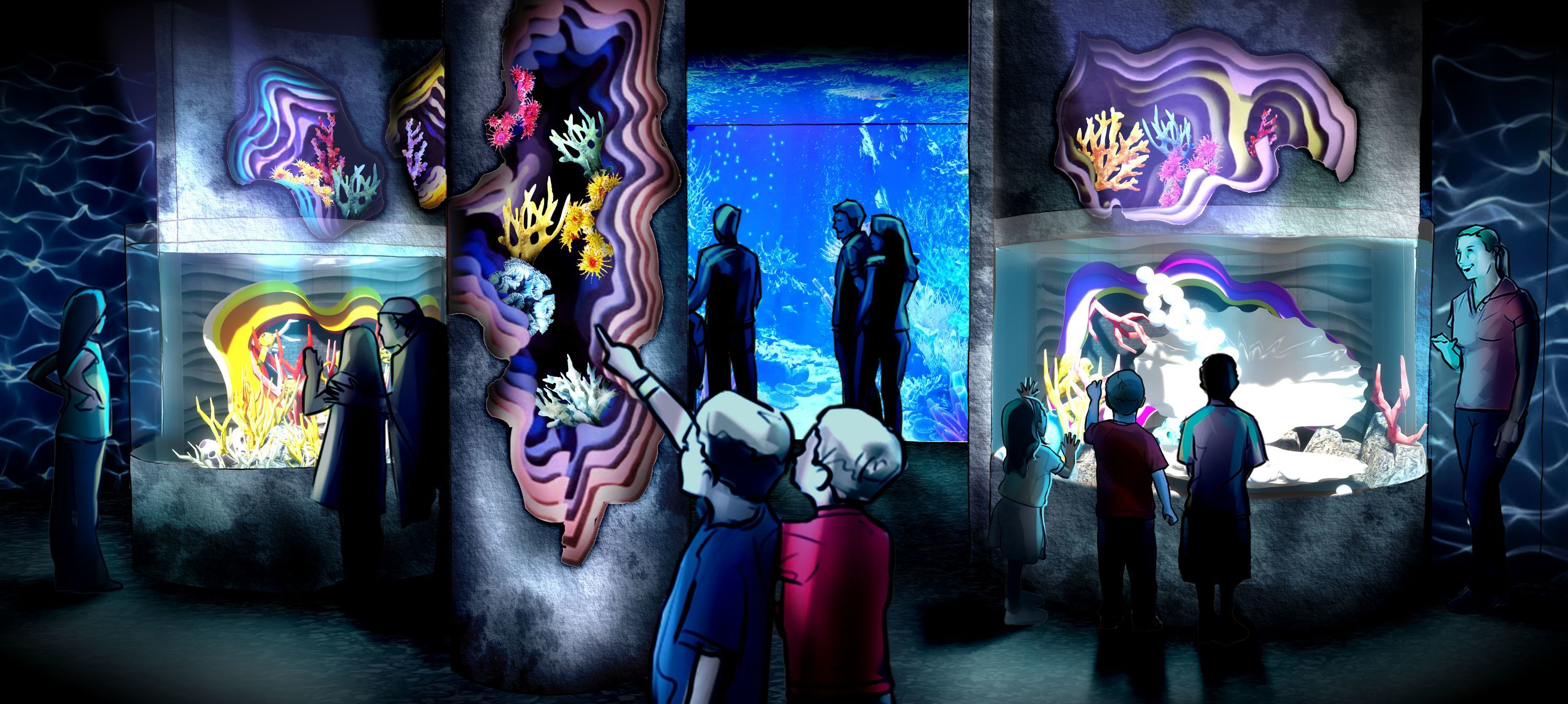 Visit the northeast's first SEA LIFE Aquarium