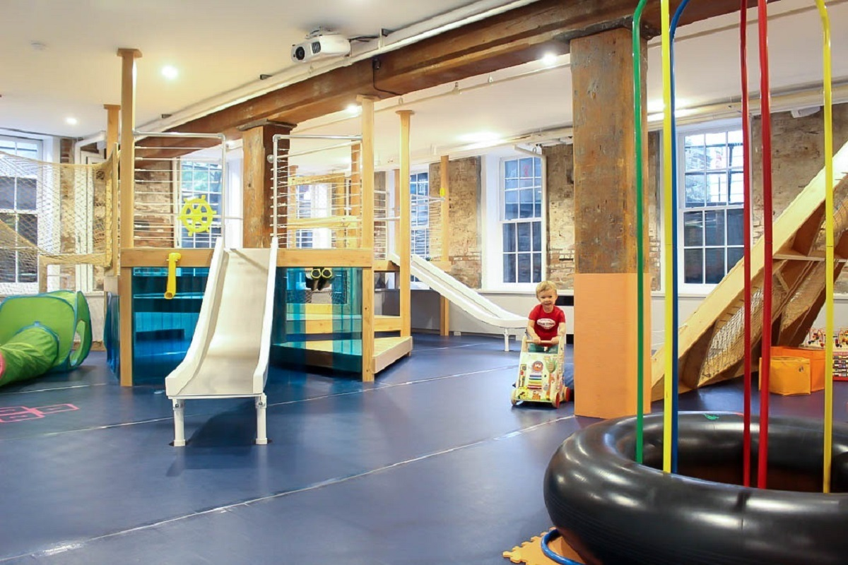 Indoor playgrounds in NYC