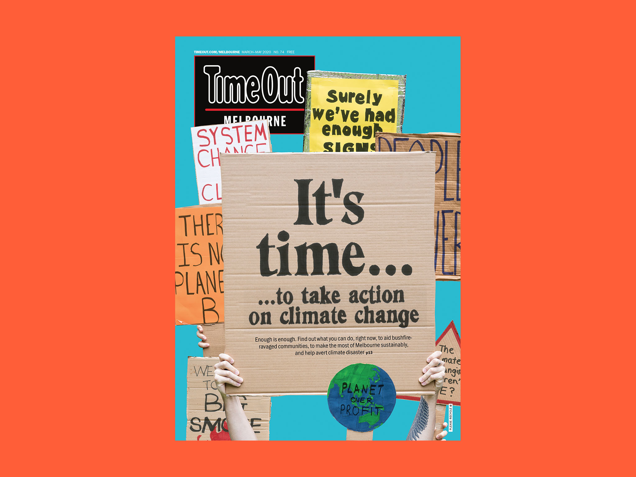 Time Out Melbourne issue 74