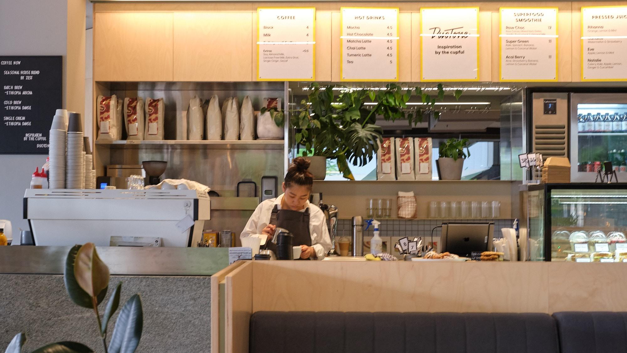 Open by Duotone café