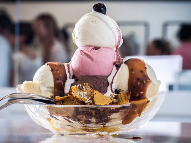 Delicious ice cream shops