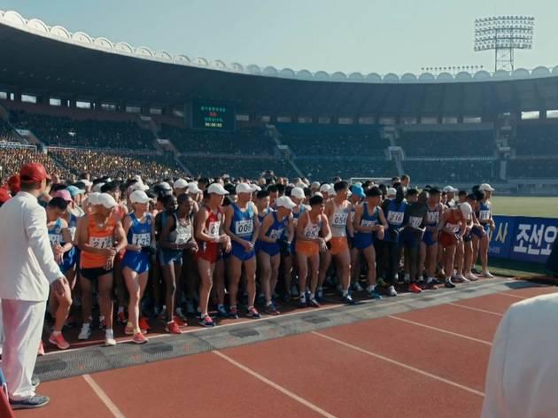 Running in North Korea