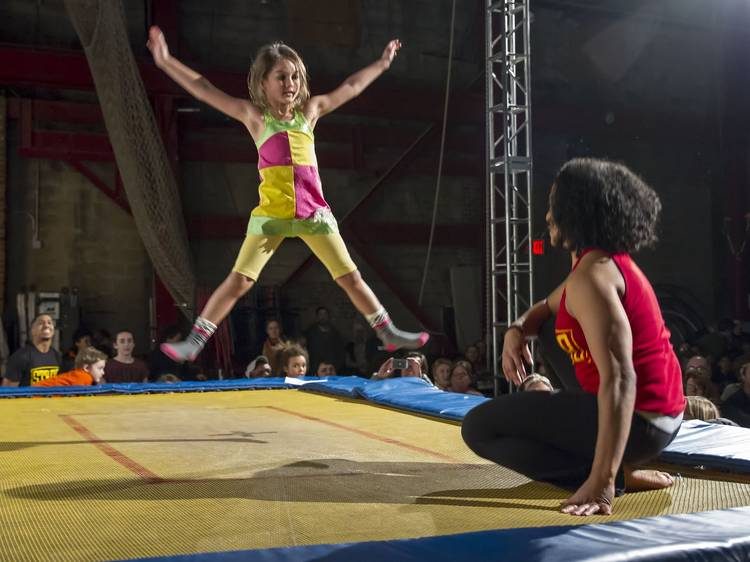 Check out the trampoline park NYC kids will love