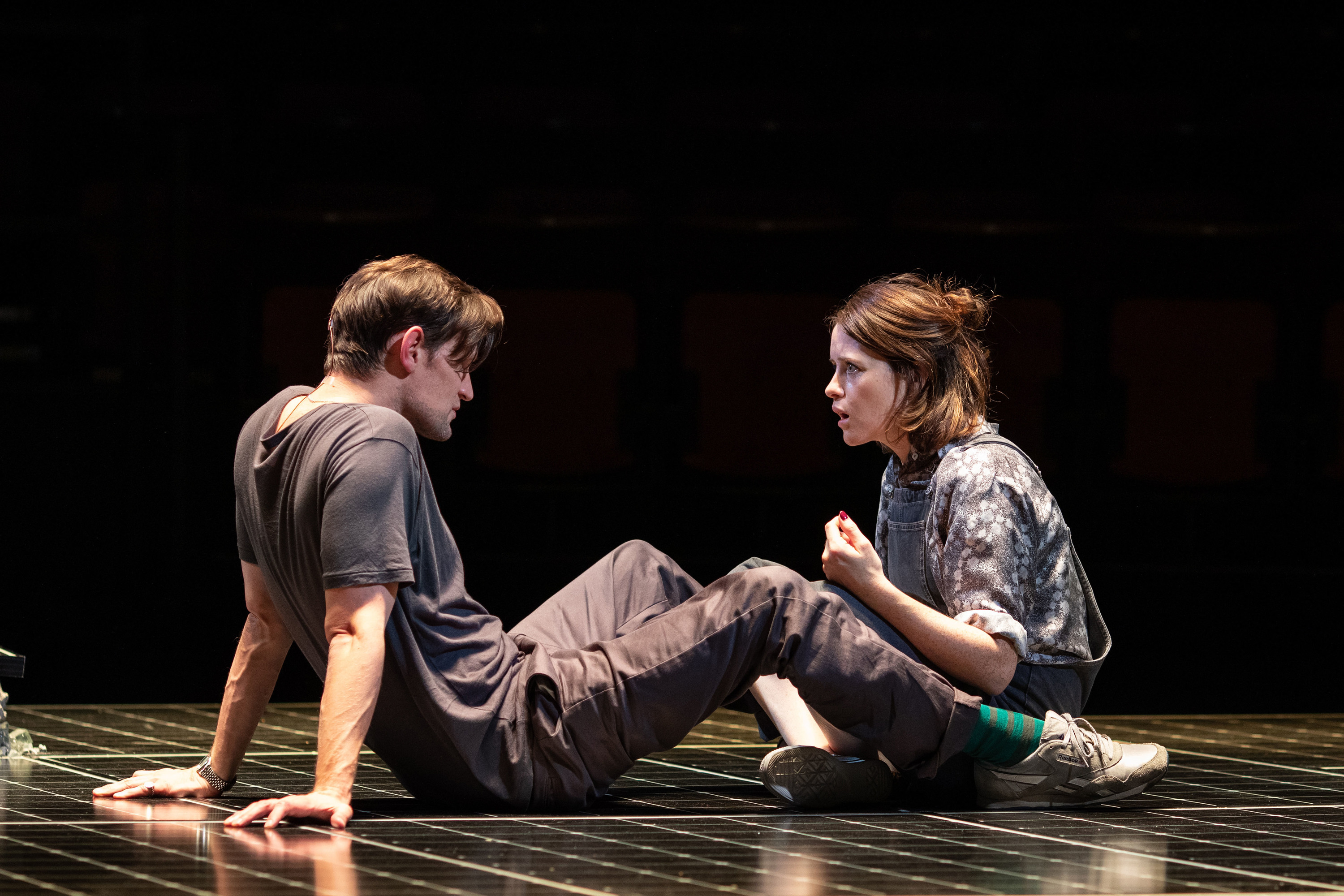 Matt Smith and Claire Foy in Lungs
