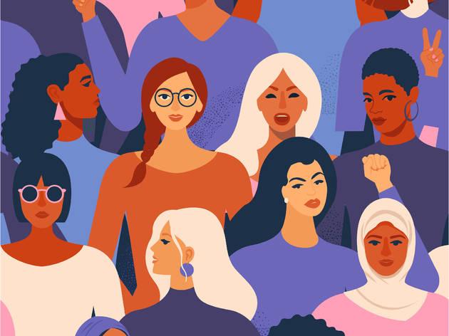 Mujeres feministas