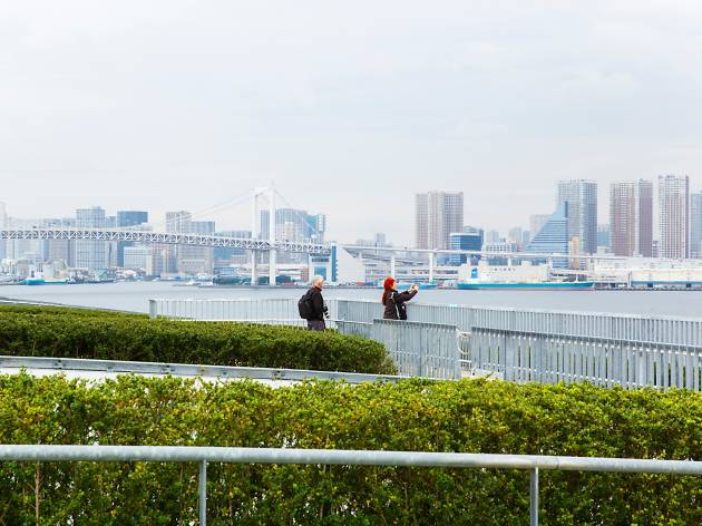 Where to see the Tokyo skyline for free