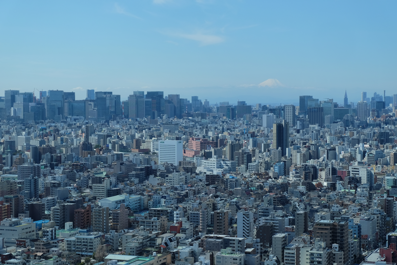 Tokyo Solamachi skyline view