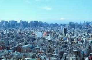 Solamachi skyline view
