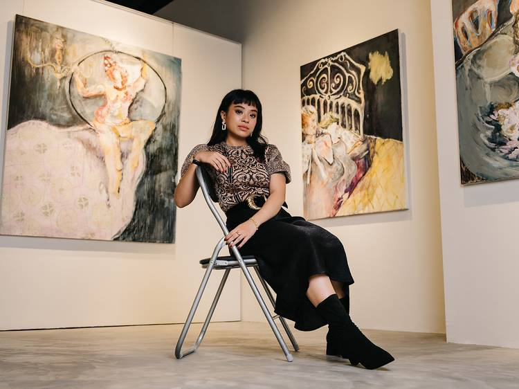 Aisha Rosli shares her struggles as a young fine artist in Singapore
