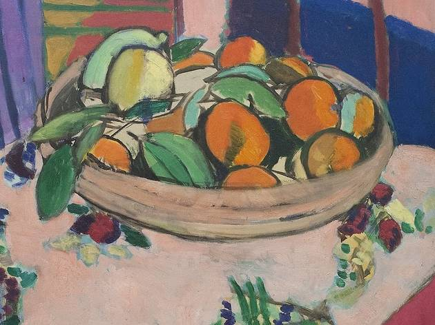 Nature morte aux oranges by Matisse