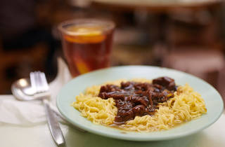 HK-style Satay beef noodle