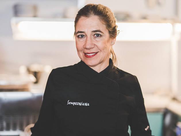 Ada Parellada, xef del restaurant Semproniana