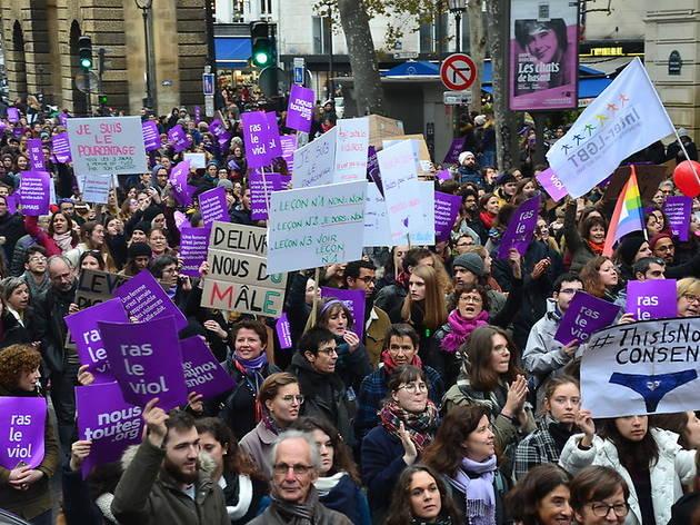 Cortège NousToutes - Grève du 8 mars