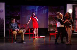 Matthew Schatz, Lauren Testerman, Maggie McDowell and Erin Lamar in Love Quirks