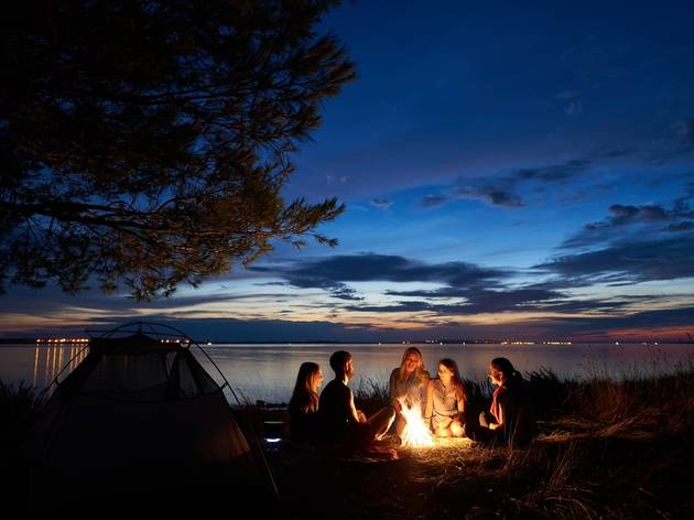 Sleep under the stars at these nearby NYC-area camping grounds