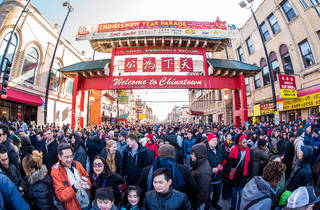 Chinatown Chicago Lunar New Year parade