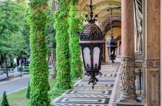 Zagreb's leafy and lush Mirogoj Cemetery
