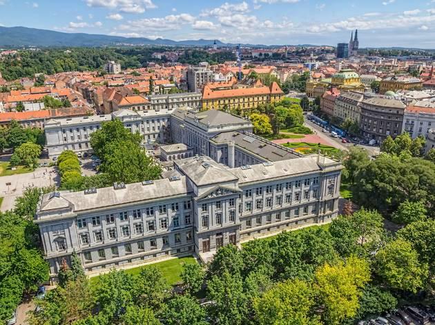 Zagreb's greenery-encapsuled Mimara Museum