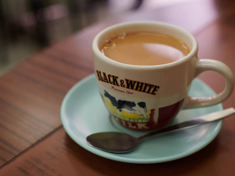 鍾記餐室:奶茶