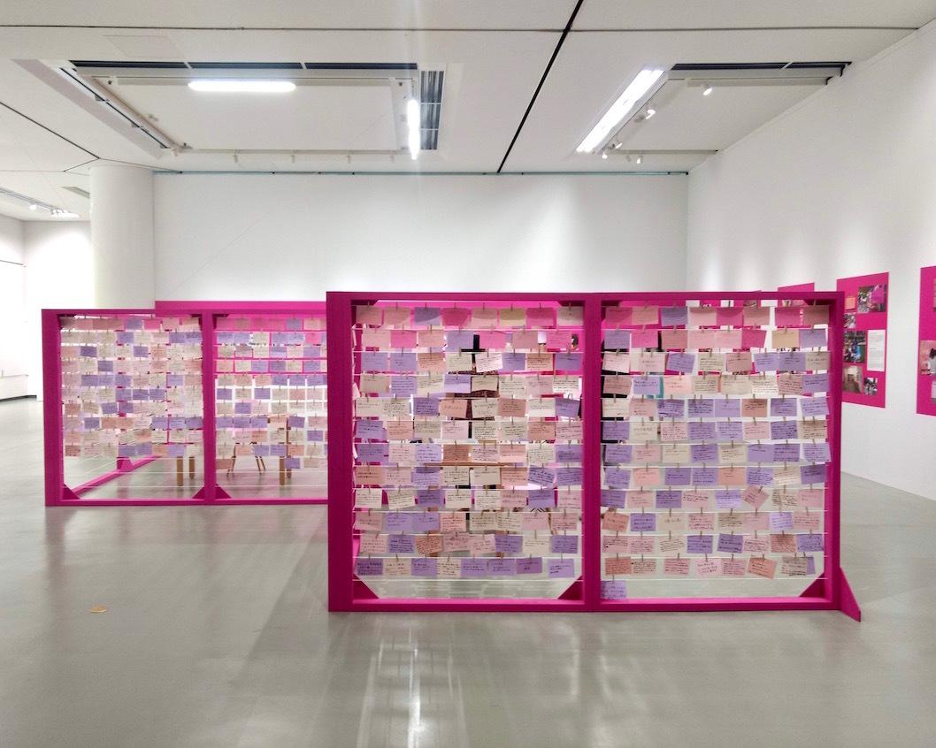 ジェンダー差別を可視化するアートプロジェクト「Our Clothesline with Monica Mayer」