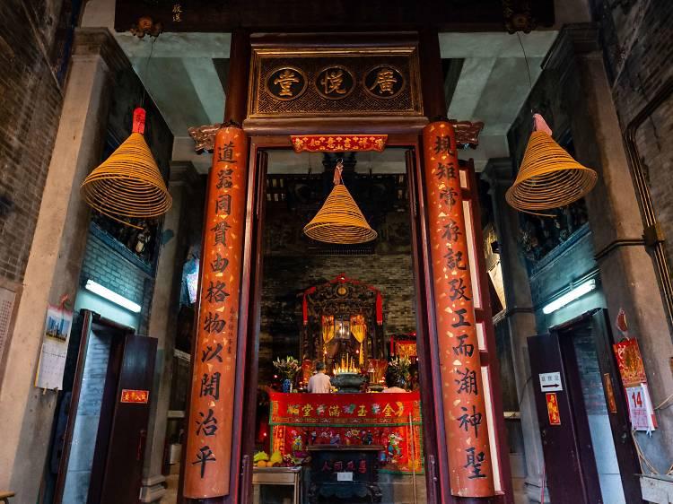 魯班先師廟:百年廟宇