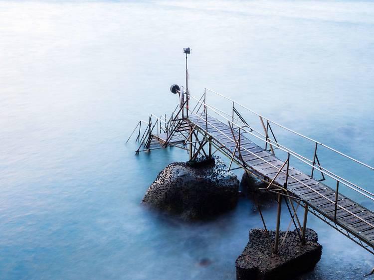 西環泳棚:壯麗海景