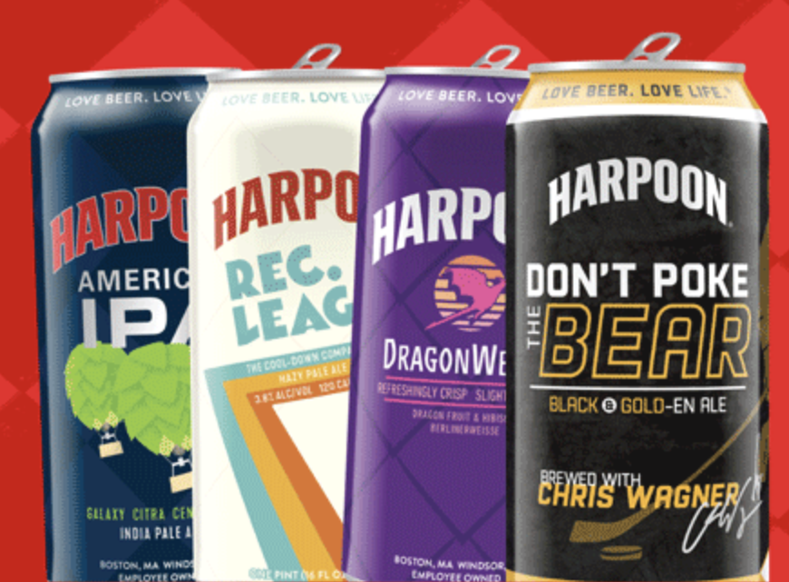 Harpoon Brewery tap takeover at TOM