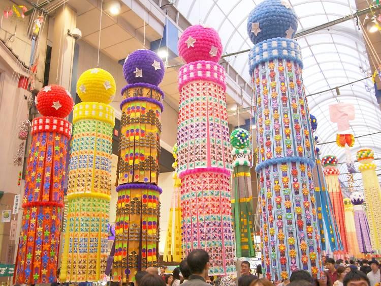 Sendai Tanabata Matsuri, Sendai