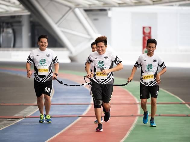 Singapore Sports Hub, 100Plus Promenade