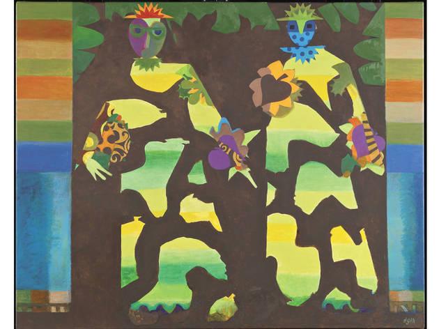 Eileen Agar 'Figures in a Garden' (1979-81)