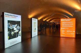 Metropolitano de Lisboa, exposições, Museu Calouste Gulbenkian