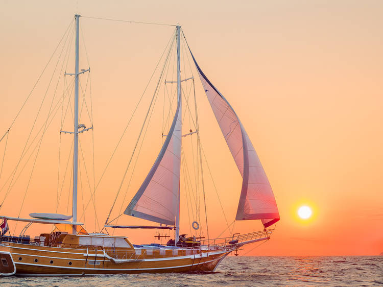 Sail Croatia, the best way to see the country in summer
