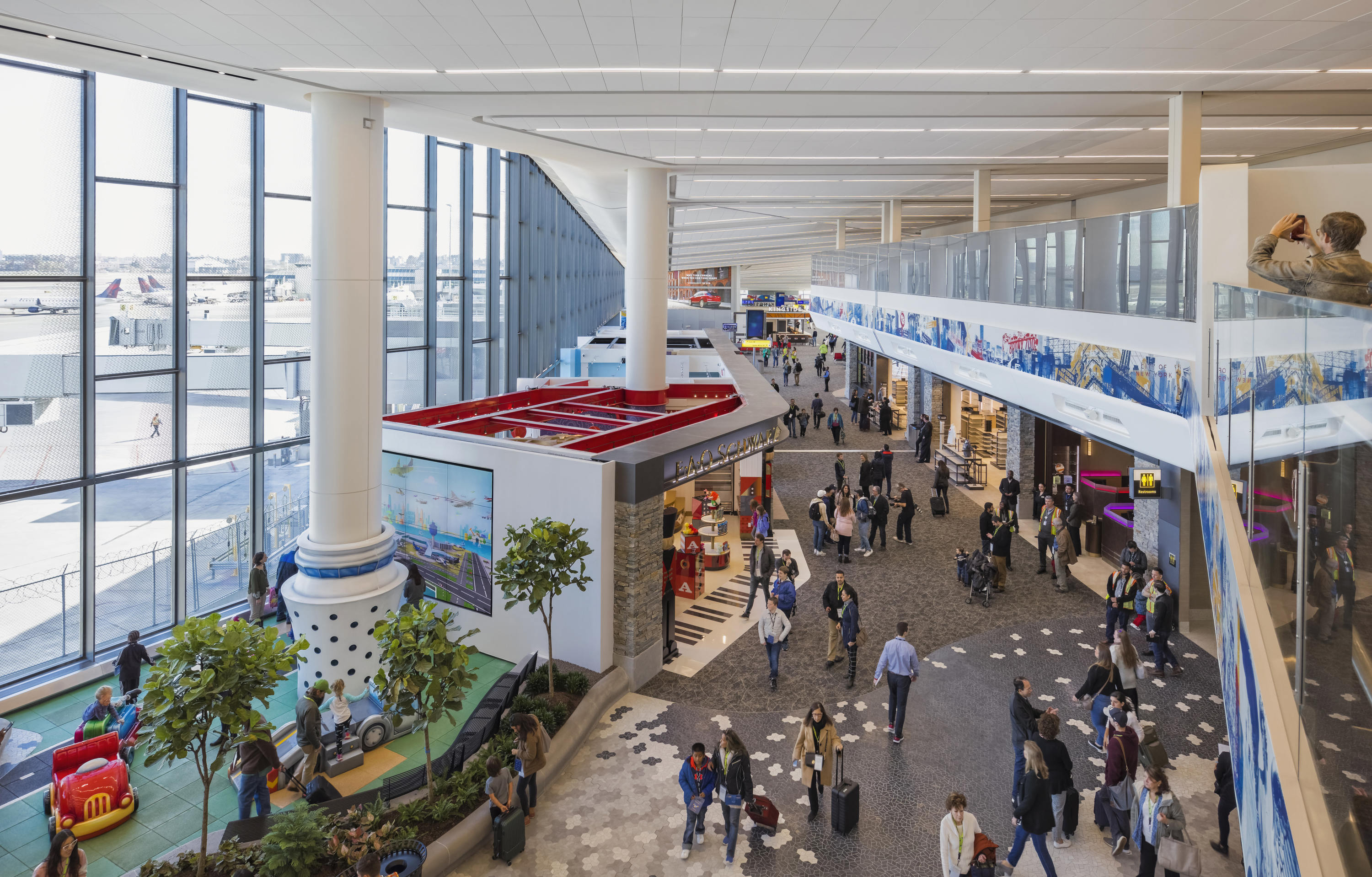 Works by internationally renowned artists are coming to LaGuardia Airport's Terminal B