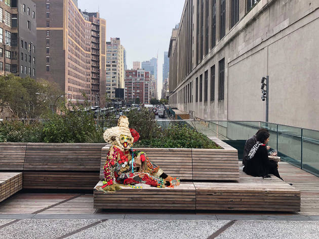 See the new outdoor art coming to the High Line in April