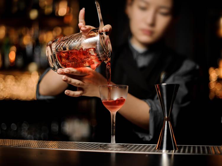 Women behind the stick in Hong Kong's bar scene