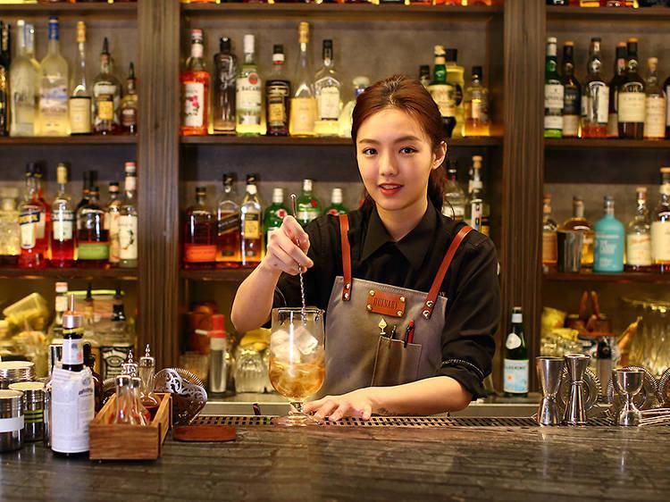 Shelley Tai, bar supervisor at Quinary