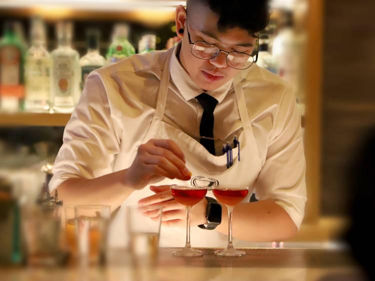 LZ Zapanta, bartender at The Diplomat